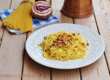 Spaghetti alla carbonara – ricetta classica