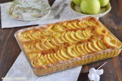 Torta di mele veloce - senza burro