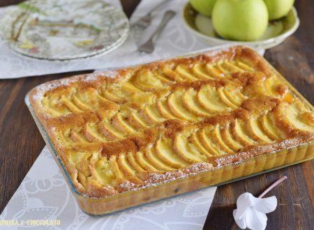 Torta di mele veloce – senza burro