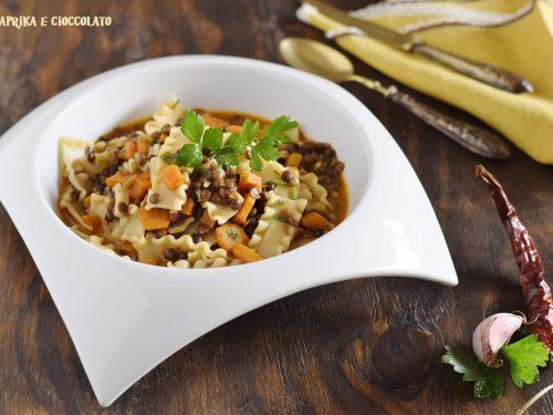 Zuppa di lenticchie della nonna