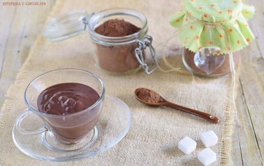 Preparato per cioccolato in tazza
