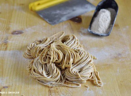 Spaghetti con farina integrale