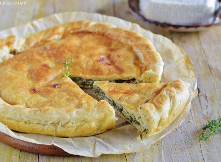Torta rustica con spinaci e ricotta