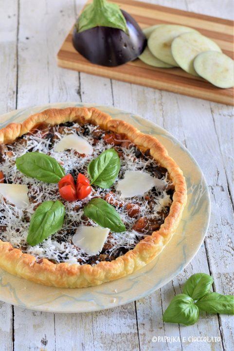 Torta rustica alla parmigiana,