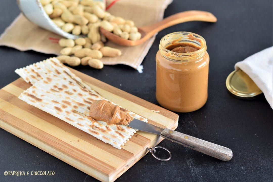 Burro di arachidi - crema spalmabile