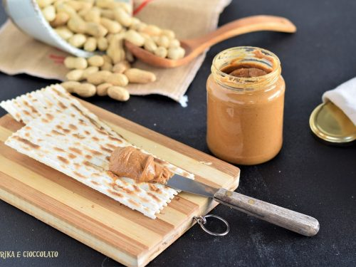 Burro di arachidi – crema spalmabile