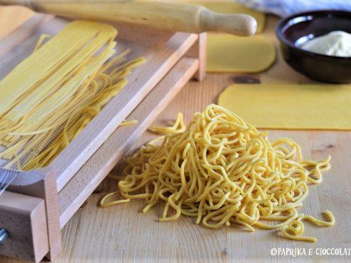 Spaghetti alla chitarra-ricetta base
