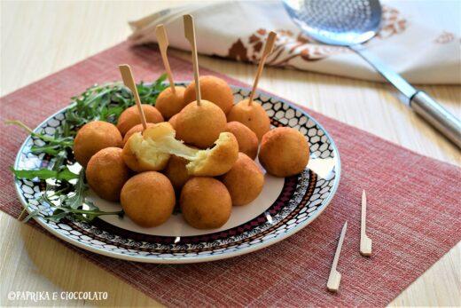 Polpette di patate ripiene di mozzarella