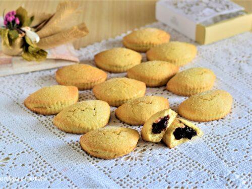 Raviole Bolognesi con confettura di mirtilli