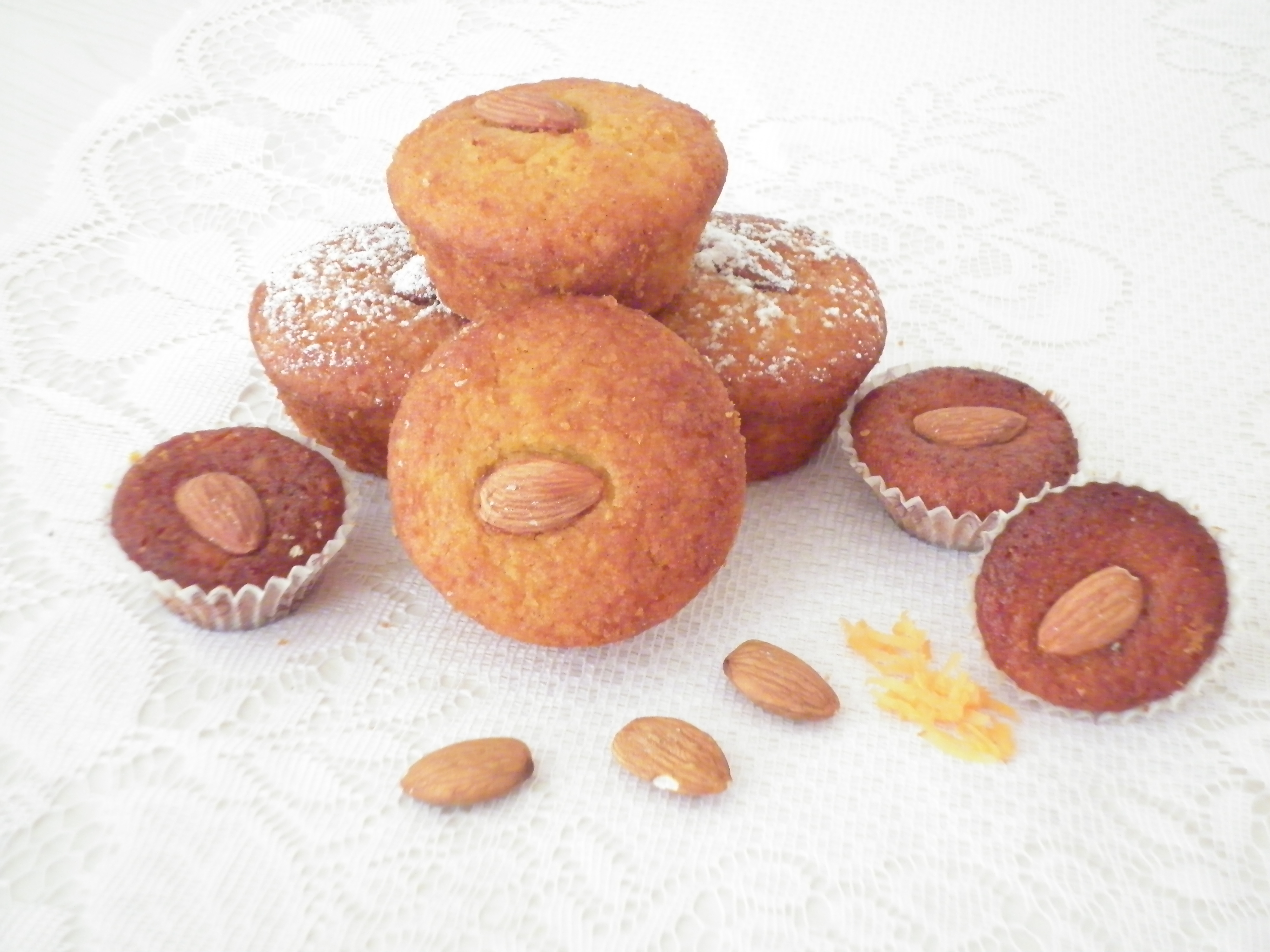 muffin carote mandorle