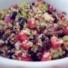 insalata di quinoa e fagioli neri