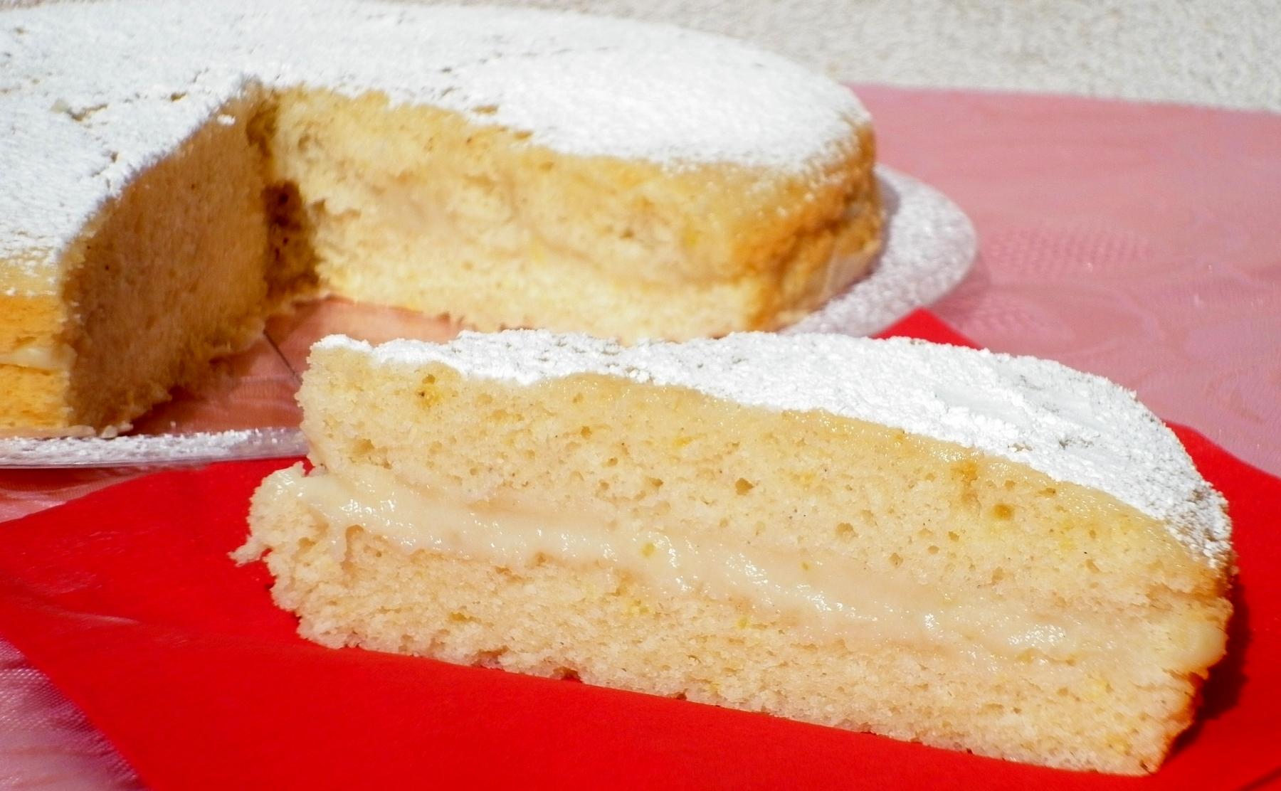 Torta Al Limone Senza Burro E Uova Limone E Vaniglia