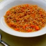 zuppa di grano saraceno