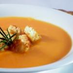 vellutata di zucca e carote allo zenzero
