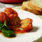 polpette di lenticchie rosse al pomodoro