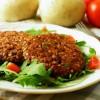 burger di grano saraceno e fagioli rossi