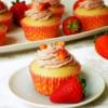 cupcakes alle fragole vegan