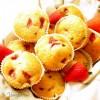 muffin alle fragole e cioccolato