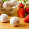 palline cocco e fragole