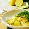 linguine limone e zucchine