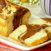 plumcake variegato al cacao