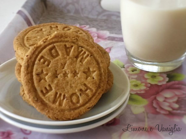 biscotti al malto d'orzo