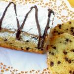 Plumcake arancia e cioccolato – senza burro e uova