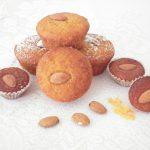 Muffins light con carote e mandorle -senza glutine