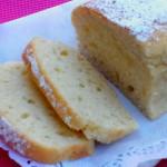 Plumcake al limone (senza burro e uova)