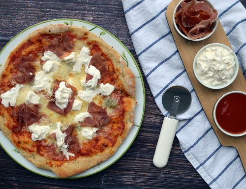 PIZZA ALLE TRE FARINE BIMBY