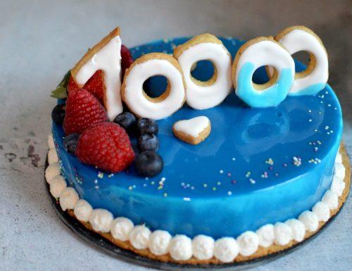 TORTA 10 000 FOLLOWERS INSTAGRAM BIMBY