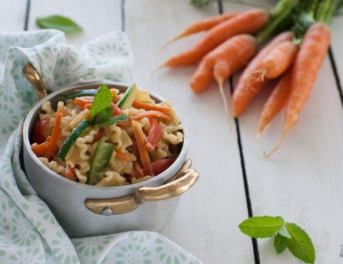 Pasta primavera – ricetta vegetariana