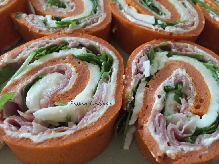 Eccezionale Rotolo salato farcito - fresco e leggero | PassioneCooking UF21