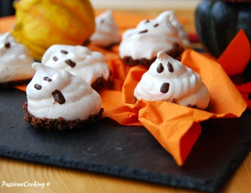 Meringhe fantasmino – dolcetti per halloween