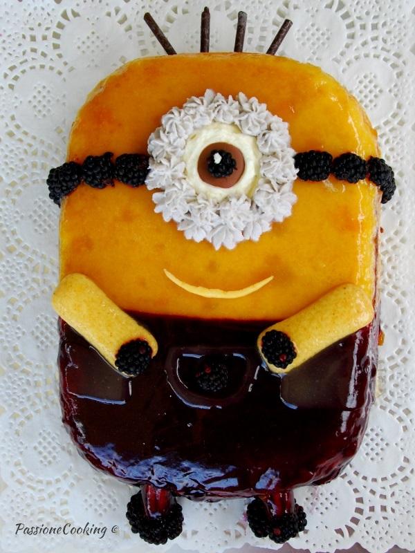 Assez Torta minions senza pasta di zucchero | PassioneCooking NI77