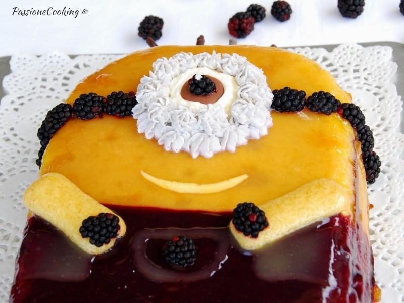 Assez Torta minions senza pasta di zucchero | PassioneCooking JH86