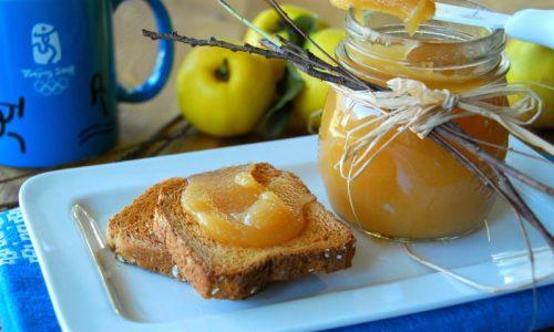 Marmellata di mele cotogne – senza sbucciarle