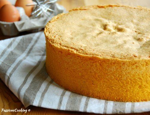 Pan di spagna – ricetta base con lievito