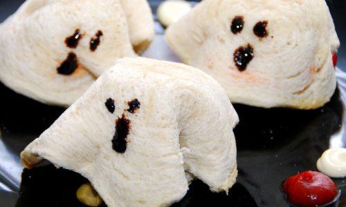 Toast fantasmino – ricetta halloween o festa a tema