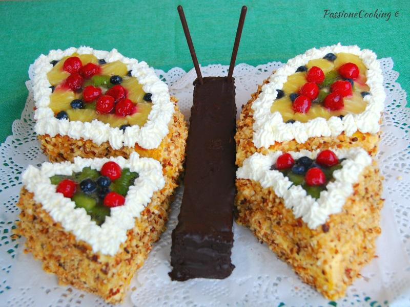 Torta di compleanno farfalla senza pasta di zucchero for Idee per torta di compleanno