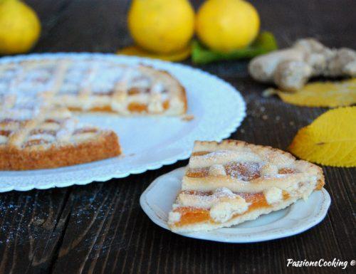 Crostata con marmellata di cotogne – senza uova