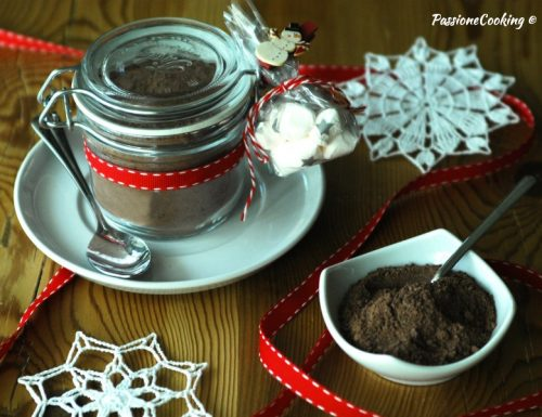 Preparato per cioccolata calda – idea regalo