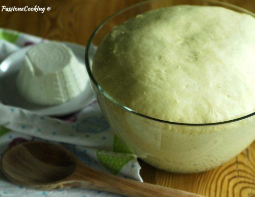 Impasto pan brioche alla ricotta – ricetta base