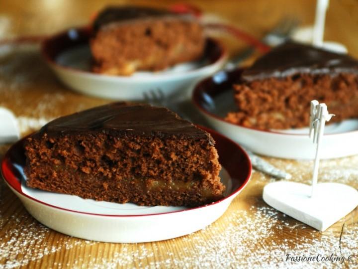 Torta al cioccolato finta Sacher