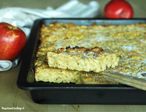 Torta putana con mele e uvetta – ricetta vicentina