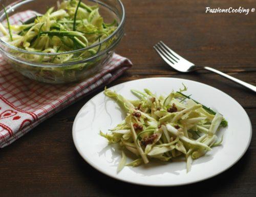 Insalata di puntarelle con aglio e acciughe