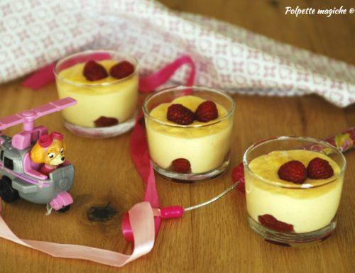 Budino alla vaniglia fatto in casa