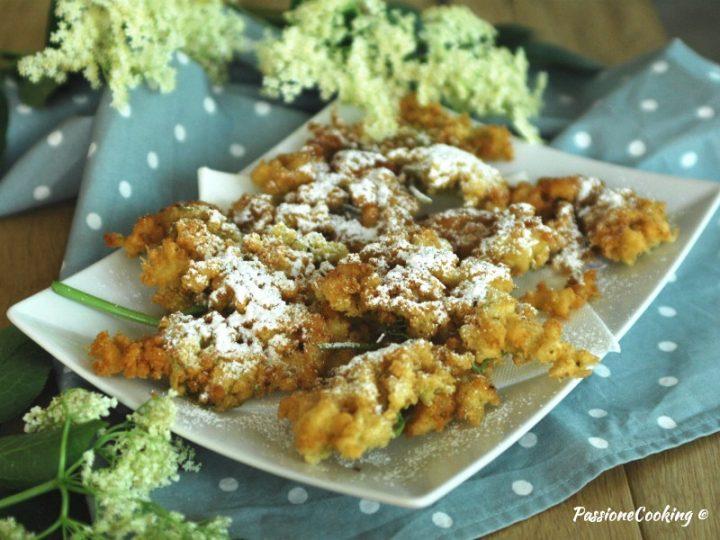 Frittelle di fiori di sambuco - ricetta golosa