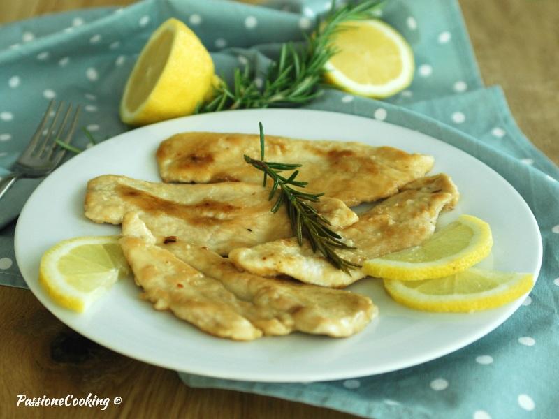 recipe: scaloppine di pollo al limone [14]