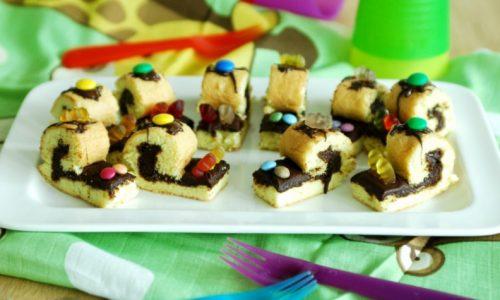 Lumachine dolci per bambini